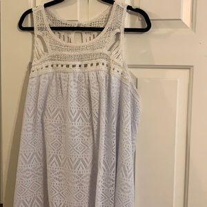 3X Summer Dress Crochet